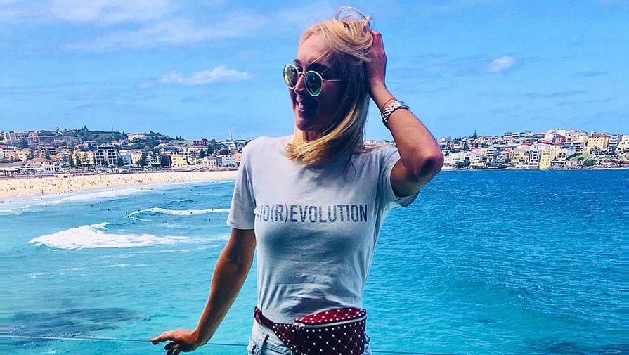 Российская теннисистка Елена Веснина в Сиднее