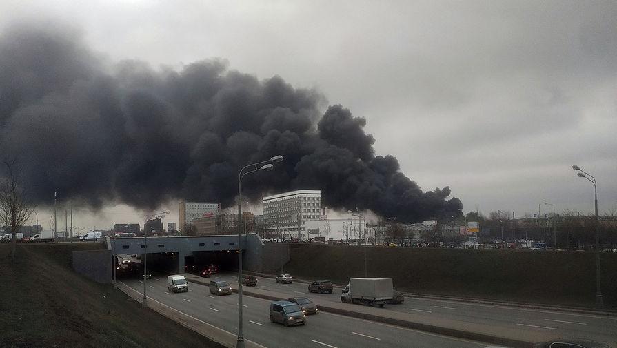 Пожар на складе на Варшавском шоссе, 13 декабря 2019 года