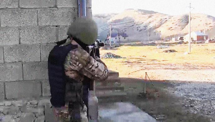 В Чечне взяли боевиков из банды Басаева и Хаттаба