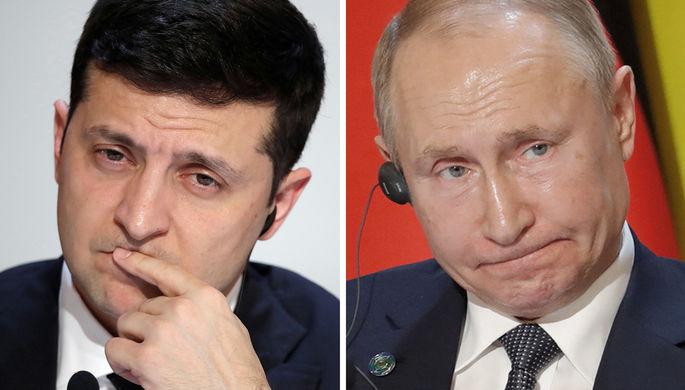 Саммит в Париже: Кремль признал разногласия Путина и Зеленского