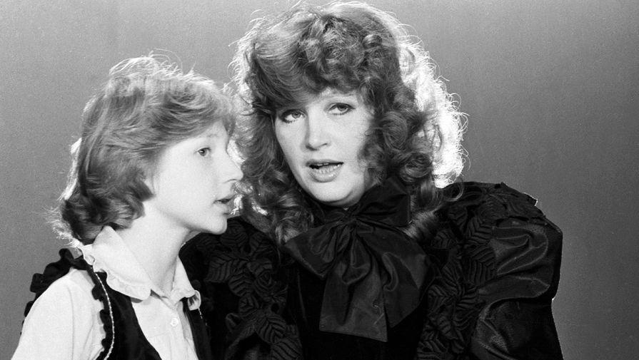 Первое выступление Орбакайте на телевидении состоялось в 1978 году в передаче «Веселые нотки». Она спела композицию «Солнышко смеется». В 14 лет Орбакайте появилась в программе «Утренняя почта» с песней «Пусть говорят». В 1983 году в дуэте с матерью она исполнила песню «А знаешь, все еще будет»