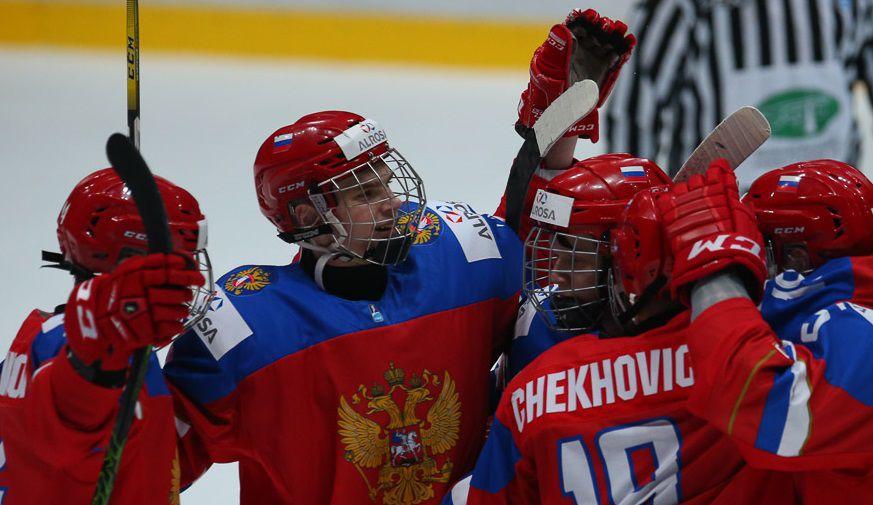 Россия уступила Финляндии в матче ЮЧМ