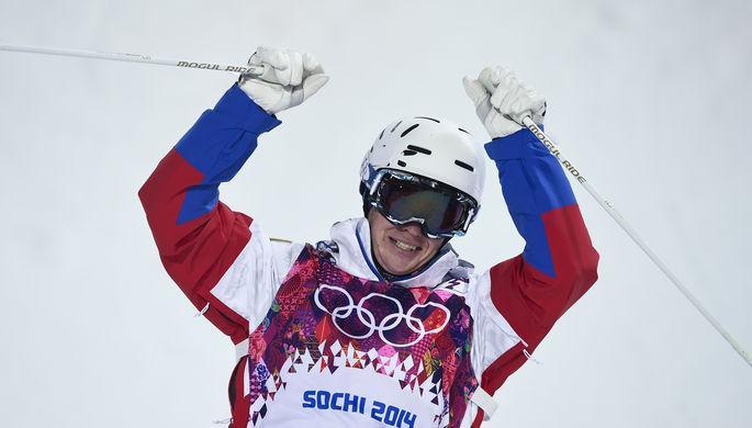 Александр Смышляев — бронзовый призер Сочи-2014 в могуле