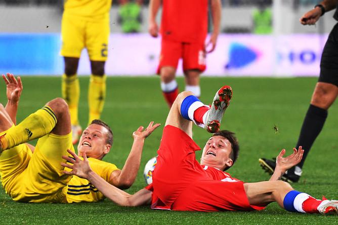 Матч Лиги наций УЕФА между сборными России и Швеции, 11 октября 2018 года