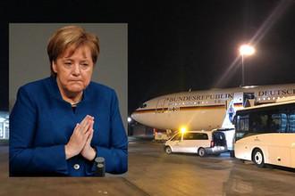 Иду на таран: самолет Ангелы Меркель попал в аварию