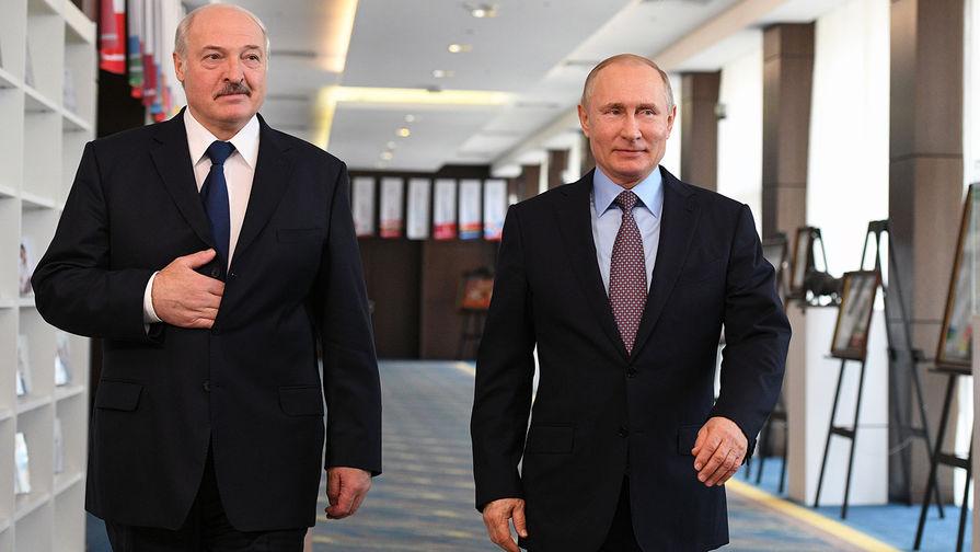 Путин провел встречу с Лукашенко