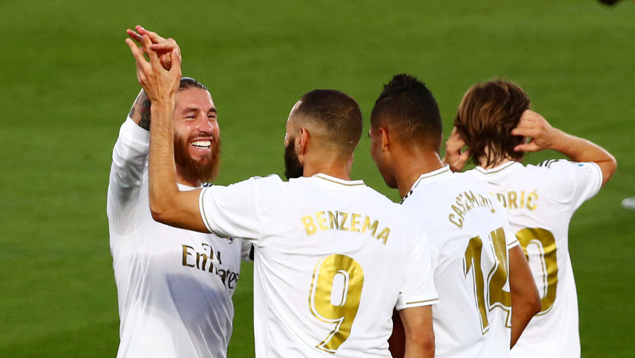 эпизод матча «Реал»- «Вильярреал»