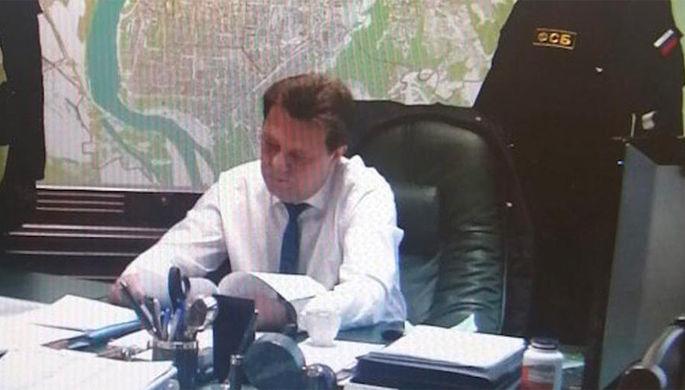 Мэра Томска Ивана Кляйн задержали прямо во время селекторного совещания