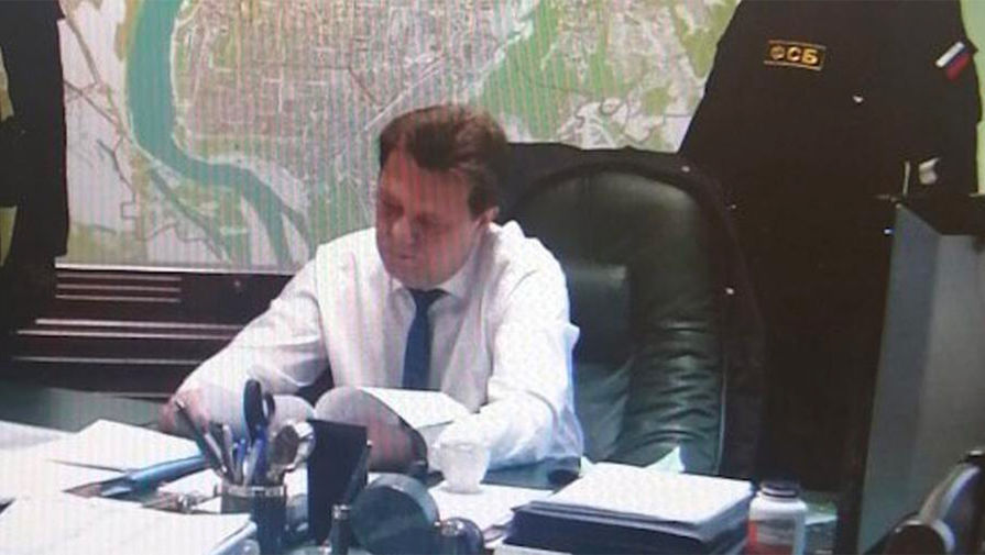 Мэра Томска Кляйна отправили под домашний арест