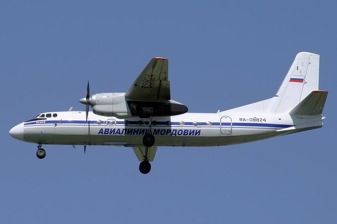 «Ан-24» компании «Авиалинии Мордовии»