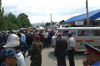 Митинги за национализацию золотоносного рудника вспыхнули во второй области Киргизии