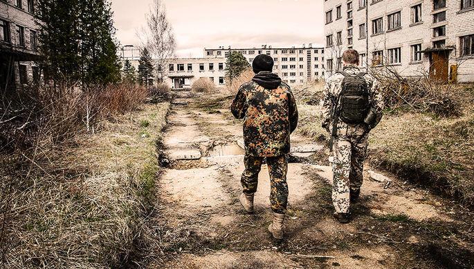 Заброшенный военный городок Скрунда-1 в Латвии