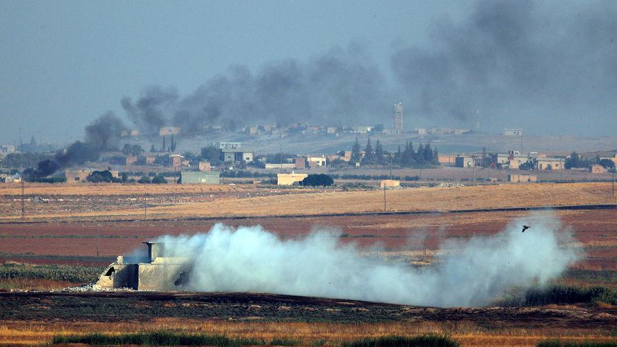 Турция начала наземную часть операции в Сирии