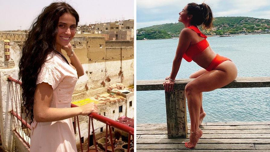 Джованна Антонелли на съемках сериала «Клон» в 2001 году и в 2020 году (коллаж)