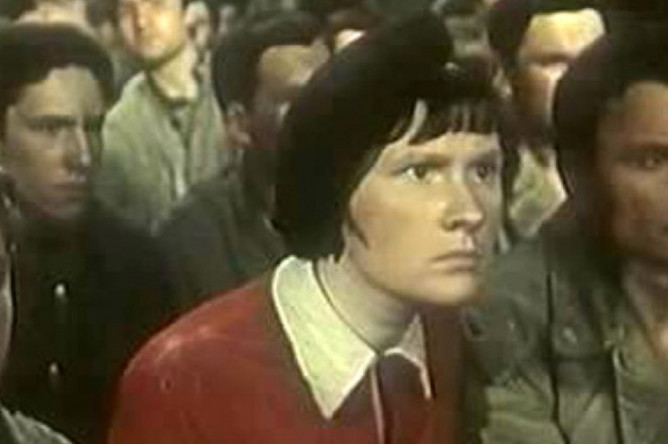 "Кадр из фильма ""Добровольцы"", 1958 год"