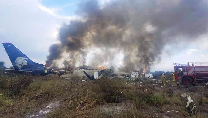 Последствия крушения самолета, 1 августа 2018 года