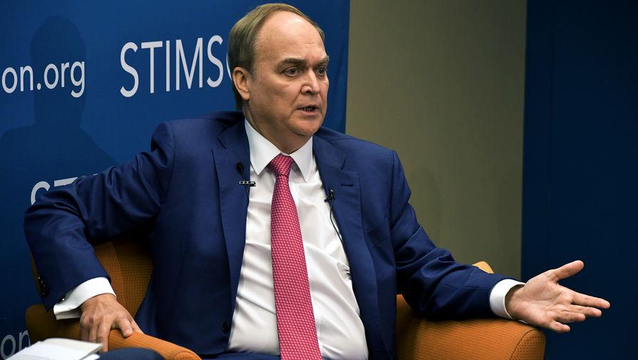 Чрезвычайный и полномочный посол Российской Федерации в США Анатолий Антонов