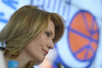Экс-глава Российской федерации баскетбола (РФБ) Юлия Аникеева