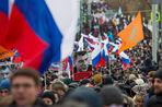 В Москве прошел «Марш памяти Бориса Немцова»