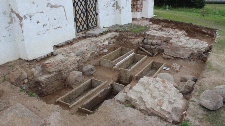 Археологи нашли древние саркофаги, принадлежащие элите