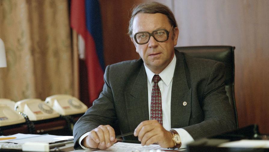 Заместитель председателя правительства Российской Федерации Владимир Фортов, 1996 год