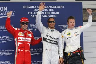 Льюис Хэмилтон стал победителем квалификации Гран-при Китая