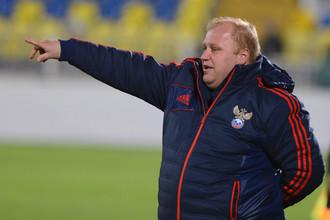 Сергей Лаврентьев доволен игрой своих подопечных, несмотря на результат