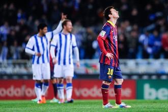 Точный выстрел Лионеля Месси со штрафного принес «Барселоне» победу над «Альмерией»