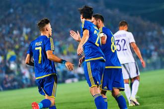 «Ростов» в первом матче против «Андерлехта»
