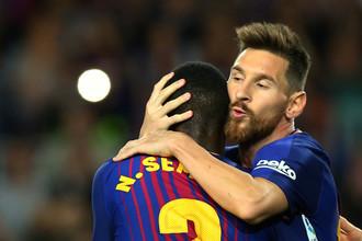 «Барселона» играет в матче пятого тура Ла Лиги с «Эйбаром»