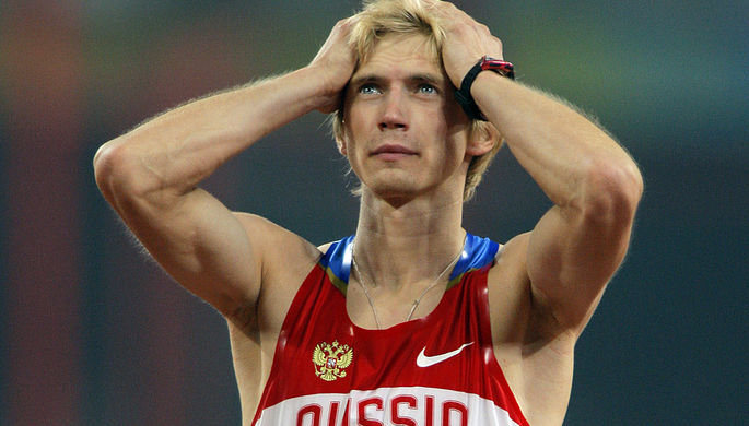 Олимпийский чемпион Игр-2008 в прыжках в высоту Андрей Сильнов