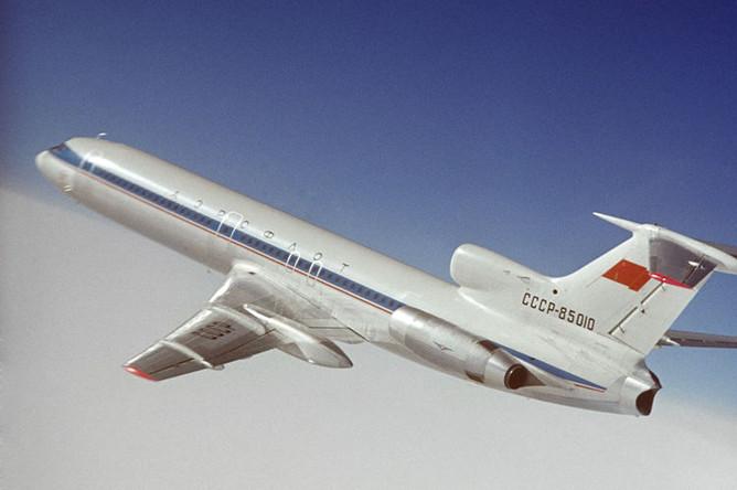 1974 год. Самолет Ту-154