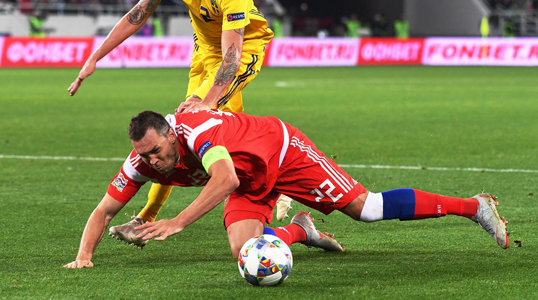 Россия – Швеция. Прогноз на матч Лиги Наций УЕФА