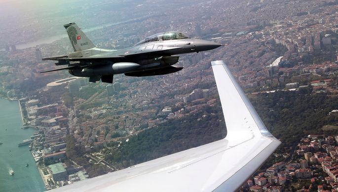 Атака в небе: Турция сбила еще один сирийский самолет