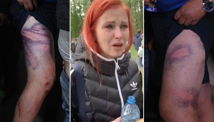 «Лежали в лужах крови»: как белорусов истязали в изоляторах