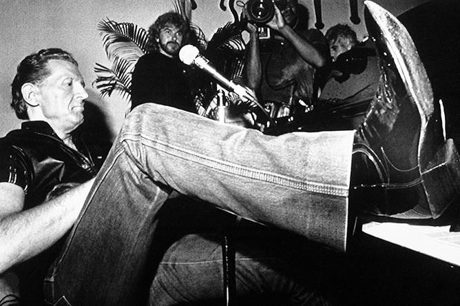 Джерри Ли Льюис, 1989 год