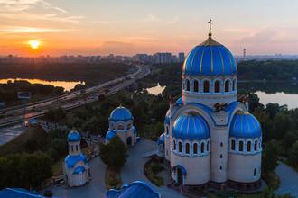 Храм Живоначальной Троицы в Орехово-Борисово