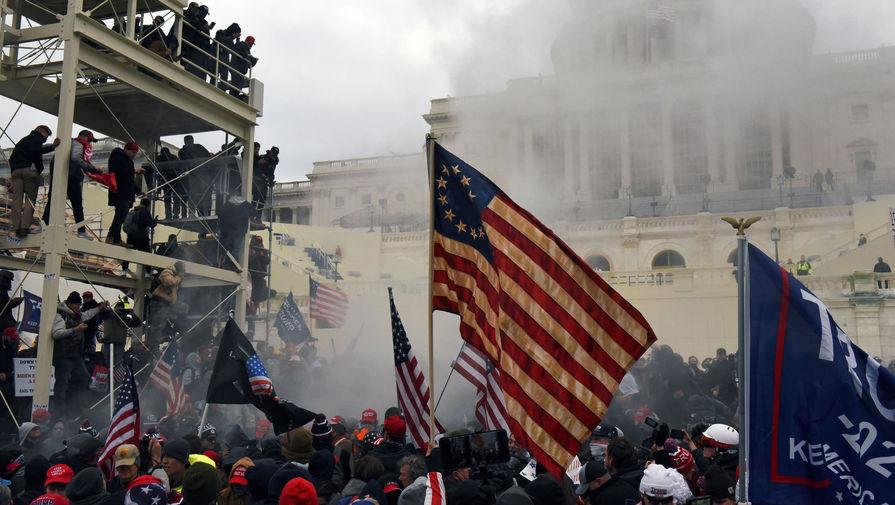 NYT сравнила события в Донецке и штурм Капитолия в Вашингтоне