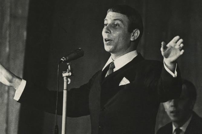 Вадим Мулерман во время выступления