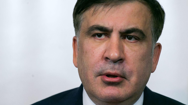 Саакашвили прилетел на Украину