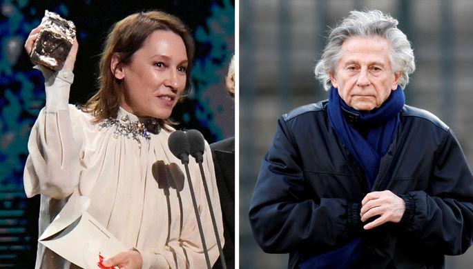 Назло феминисткам: Полански получил премию «Сезар»