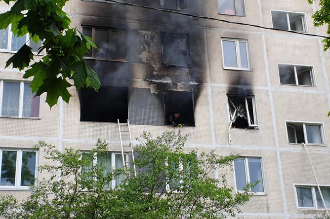 Последствия взрыва и пожара в жилом доме на Дорожной улице в Москве, 5 июня 2020 года