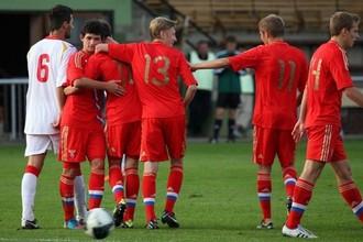 Сборная России одержала первую победу в Англии