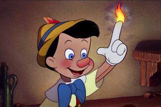 Кадр из мультфильма «Пиноккио», 1940 год