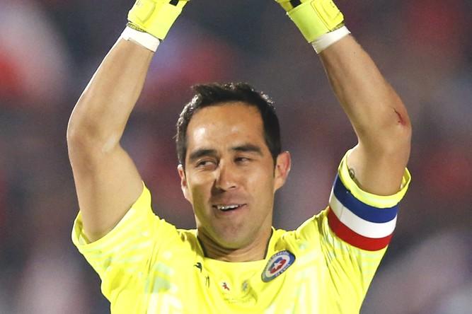 Вратарь: Клаудио Браво (Золотая перчатка Кубка Америки)