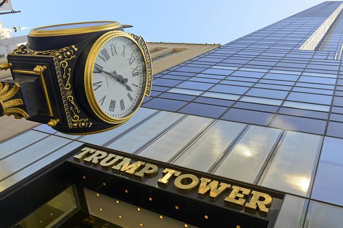 Башня Trump, Манхэттен
