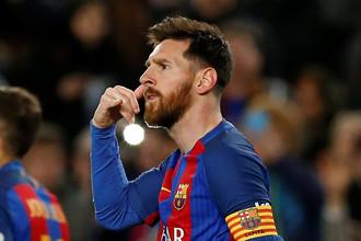 Лионель Месси помог «Барселону» одержать разгромную победу над «Сельтой» двумя голами и двумя голевыми пасами