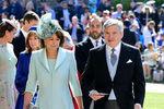 Кэрол Миддлтон и Майкл Миддлтон насвадьбе принца Гарри и Меган Маркл вВиндзоре, 19 мая 2018 года