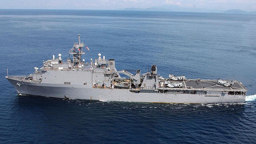 Десантный корабль ВМС США направился в Черное море - Газета.Ru