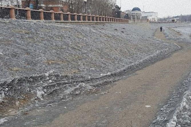 В кузбассе выпал черный снег, 16 февраля 2019 года